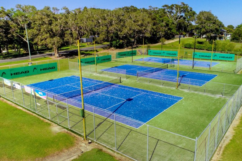 Tennis Courts in Sawtell opposite BIG4 Sawtell Beach Holiday Park