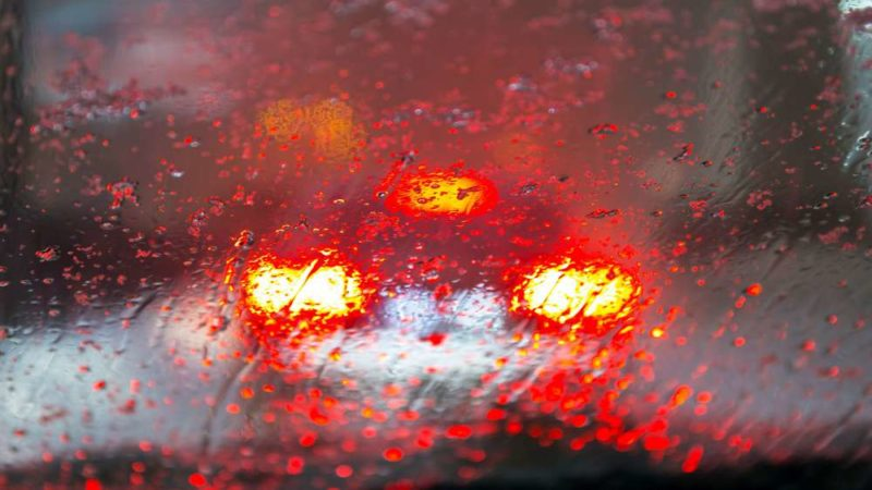 Worn windscreen wipers aren't much help when driving in the rain.