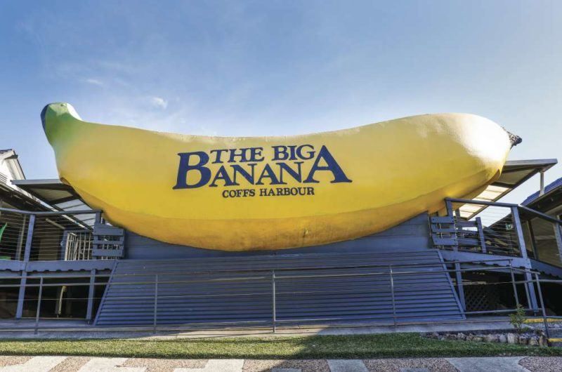 The Big Banana Coffs Harbour tourist attraction