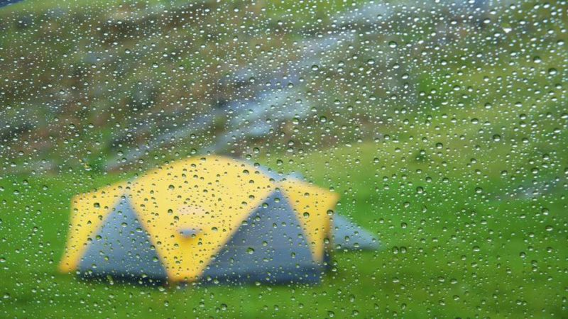 wet weather tent