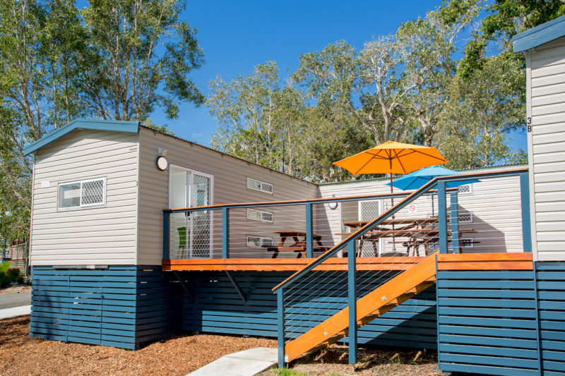 Bunkhouse accommodation at BIG4 Sawtell Beach Holiday Park