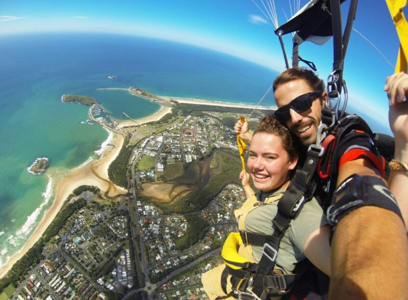 skydiving coffs harbour