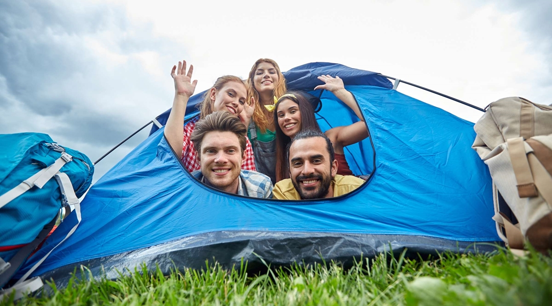 Easy going to in-tents. Which camper are you?